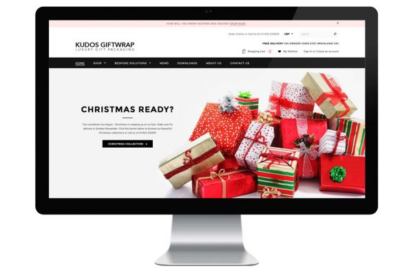 Kudos Giftwrap Shopify E-Commerce