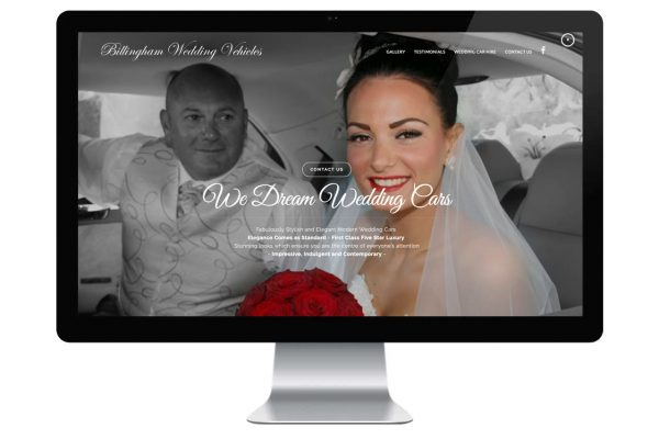 Billingham Wedding Vehicles iMac Featured Image