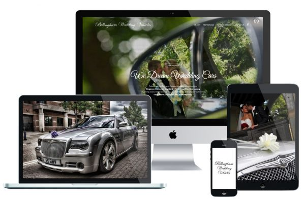 Billingham Wedding Vehicles iMac Featured Image Multi Screen