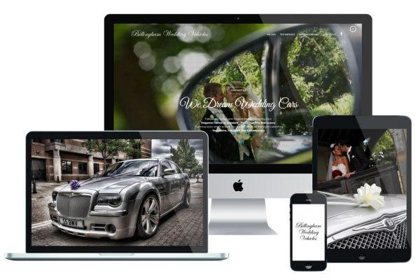 Billingham Wedding Vehicles iMac Featured Image Multi Screen