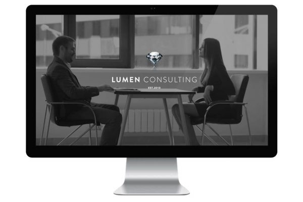 Lumen Consulting Web Design Preview