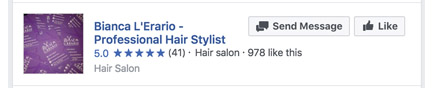 Example of Hair Stylist Reviews