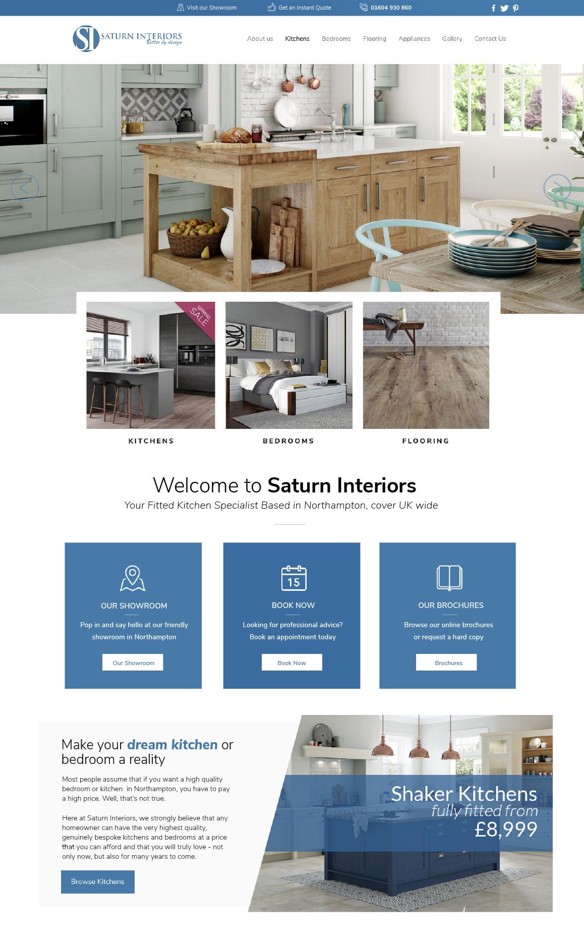 Saturn Interiors